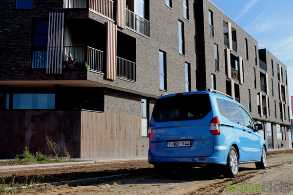 Rijtest - Ford Tourneo Courier 10