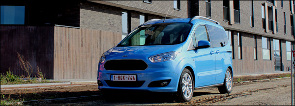 Rijtest - Ford Tourneo Courier - Header