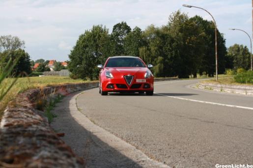 Alfa Romeo Giulietta Quadrifoglio Verde QV