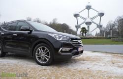 Rijtest: Hyundai Santa Fe 2.2 CRDi facelift