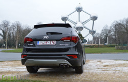 Rijtest: Hyundai Santa Fe 2.2 CRDi facelift 12