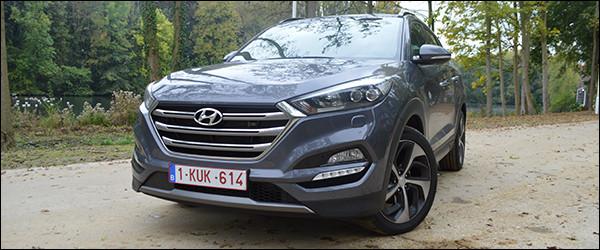 Rijtest: Hyundai Tucson 2.0 CRDi AWD Executive