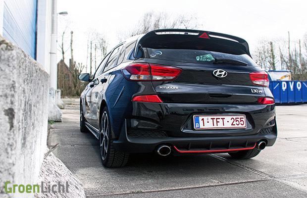   Rijtest: Hyundai i30 N 250 pk (2017) GroenLicht.be