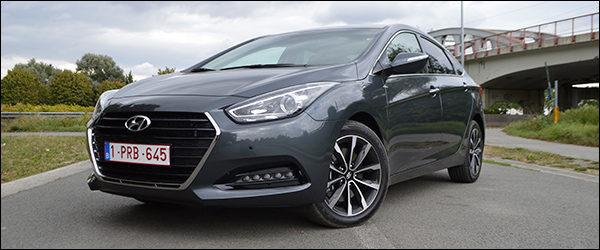 Rijtest: Hyundai i40 Sedan 1.7 CRDi DCT 7 facelift (2015)