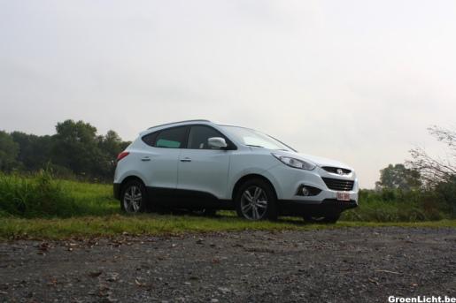 Rijtest Hyundai ix35