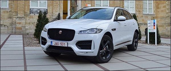 Rijtest: Jaguar F-Pace 2.0d R-Sport