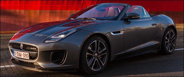 Rijtest: Jaguar F-Type Cabriolet 2.0i viercilinder 300 pk R-Dynamic (2017)