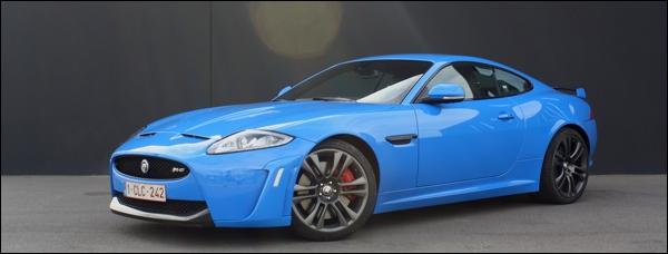 Rijtest Jaguar XKR-S