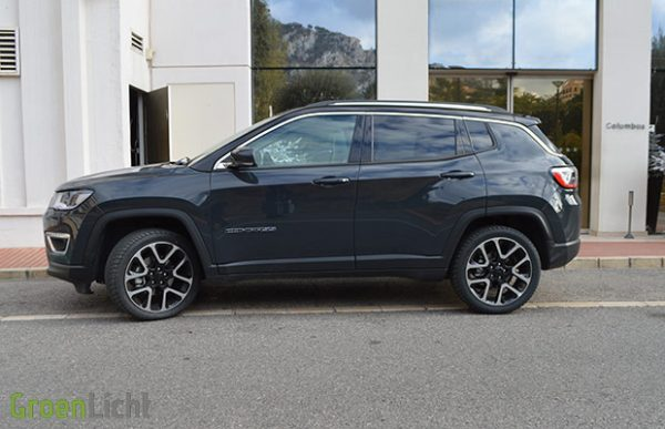 Rijtest Jeep Compass 1.4 Turbo 4x4 (2017)