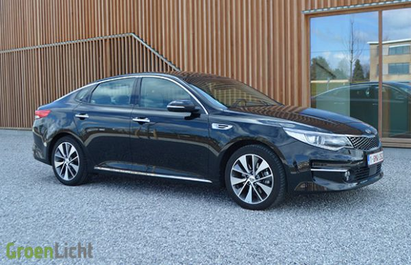 Rijtest: Kia Optima berline 1.7 CRDi 7DCT (2016)