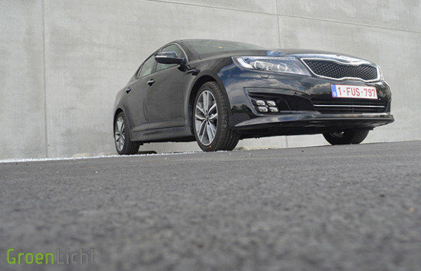 Rijtest: Kia Optima 2013 1.7 CRDi Executive