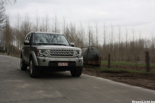 Rijtest Land Rover Discovery 23
