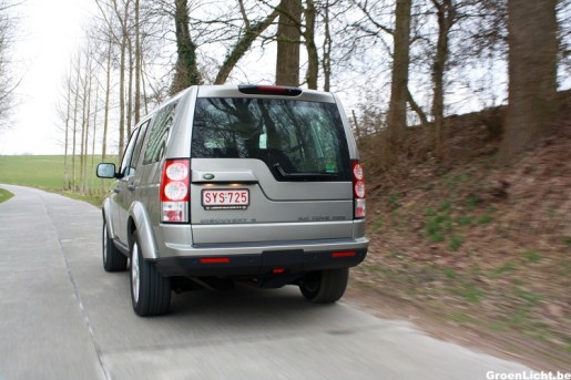 Rijtest Land Rover Discovery 31