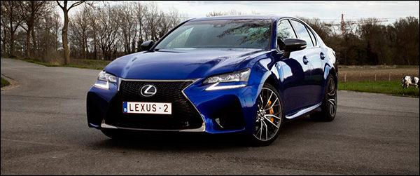 Rijtest: Lexus GS F