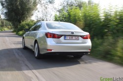 Rijtest Lexus GS450h 2012