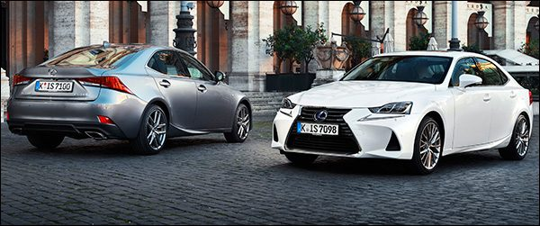 Rijtest: Lexus IS300h F-Sport (2017)