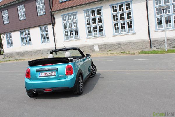 Rijtest - MINI Cabrio - Cooper 06