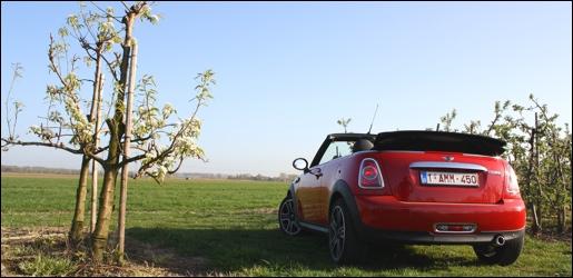 Rijtest MINI Cooper D Cabrio