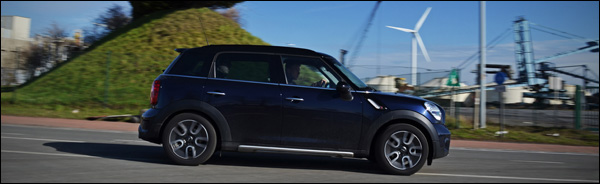 Rijtest - MINI Countryman Cooper S - Header