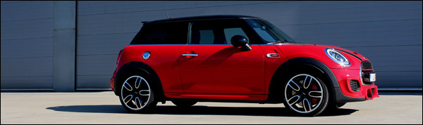 Rijtest - MINI JCW 2015 - Header