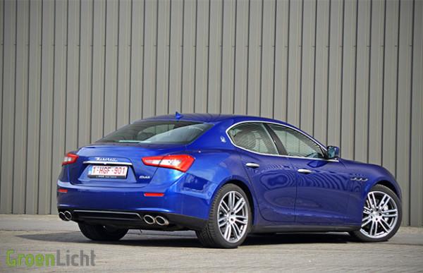 Rijtest: Maserati Ghibli 3.0 V6 Diesel