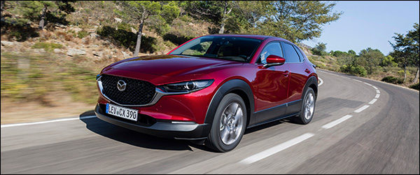 Kort Getest: Mazda CX-30 crossover (2019)