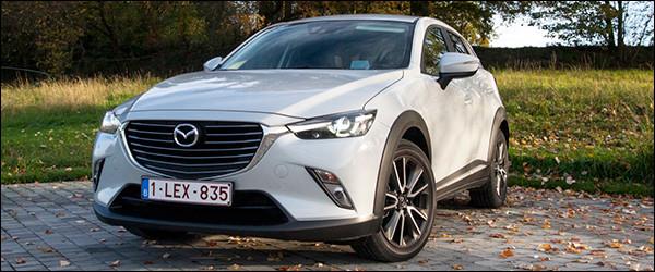 Rijtest: Mazda CX-3 Crossover [1.5 SkyActiv-D / 2.0 SkyActiv-G]