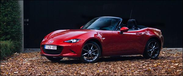 Rijtest: Mazda MX5 2.0 Sport ND