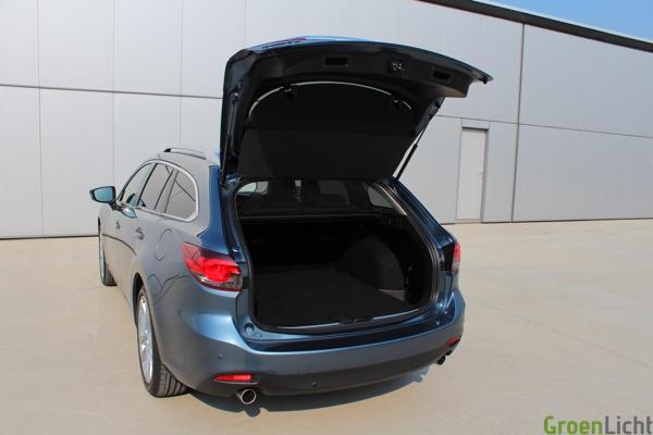 Rijtest Mazda6 Wagon