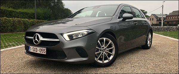Rijtest: Mercedes A-Klasse A200 (2018)