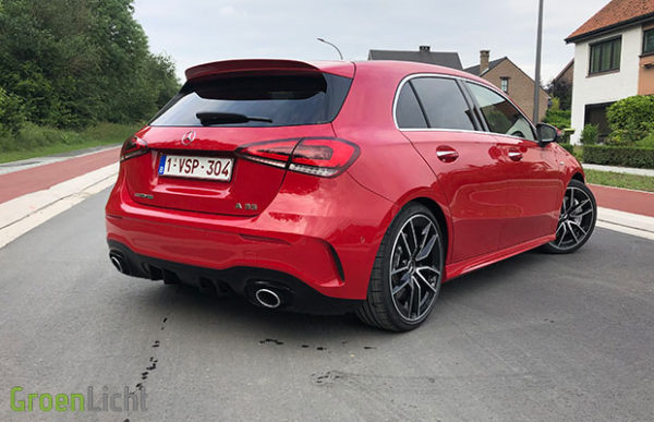 Rijtest: Mercedes-AMG A35 4MATIC+ 306 pk hot hatch (2019)