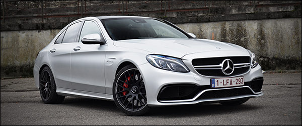 Rijtest: Mercedes-AMG C63 S