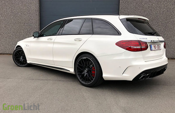 Rijtest: Mercedes-AMG C63 S Break facelift (2019)