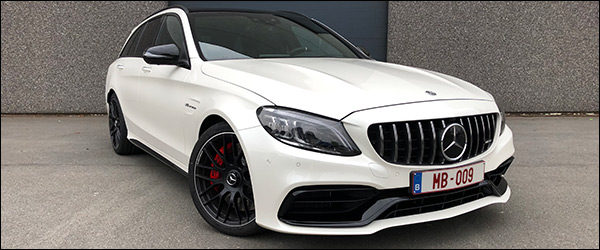 Rijtest: Mercedes-AMG C63 S Break facelift (2019)