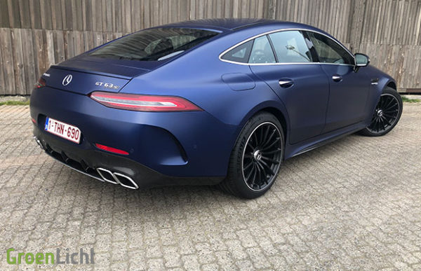 Rijtest: Mercedes-AMG GT GT63 S 4 Door Coupe (2019)