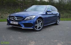 Rijtest: Mercedes C300 BlueTEC HYBRID Break S205 - C300h Break