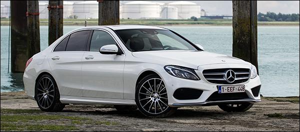 Rijtest: Mercedes C-Klasse 2014 [w205]