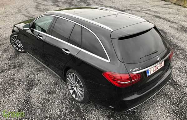 Rijtest: Mercedes C-Klasse C220d Break facelift S205 (2018)