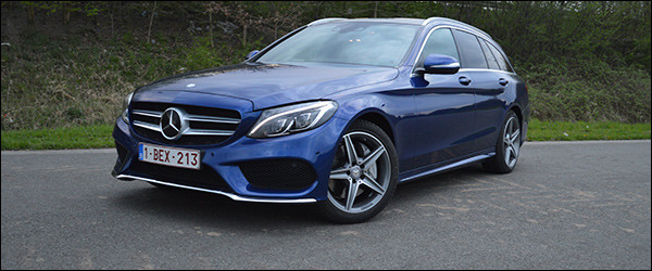 Rijtest: Mercedes C300 BlueTEC HYBRID Break - C300h Break