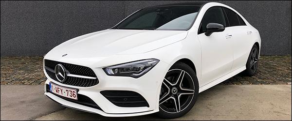 Rijtest: Mercedes CLA180 Coupe 136 pk C118 (2019)