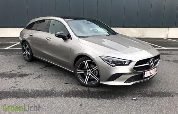 Rijtest: Mercedes CLA200d Shooting Brake X118 150 pk Progressive (2020)