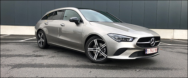 Rijtest: Mercedes CLA200d Shooting Brake X118 150 pk Progressive (2020)