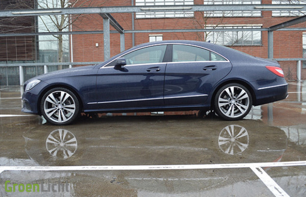 Rijtest: Mercedes CLS-Klasse Coupé [CLS220 BlueTEC]