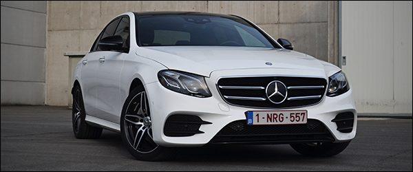 Rijtest: Mercedes E-Klasse Berline 2016 [E220d]