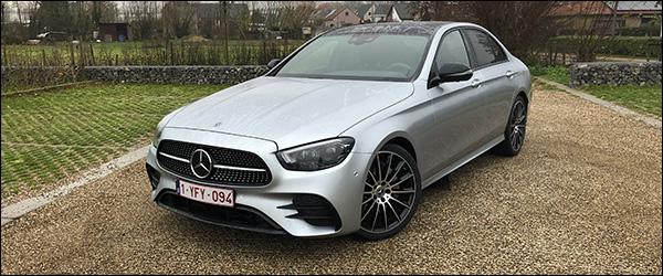 Rijtest: Mercedes E-Klasse E200d facelift (2020)
