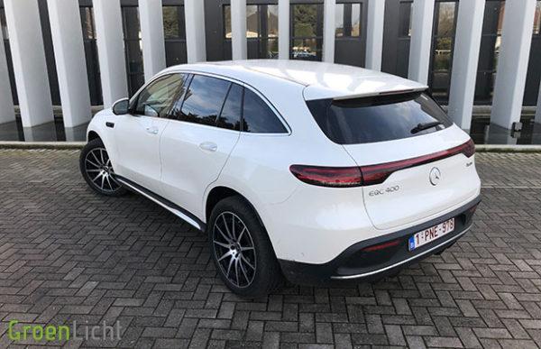 Rijtest: Mercedes EQC SUV EQC400 4Matic EV (2019)