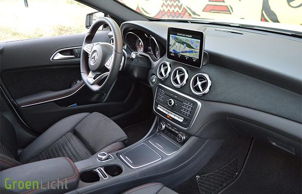 Rijtest Mercedes Gla Klasse Facelift Gla200 Groenlicht Be