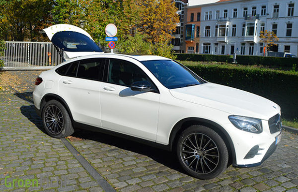 Rijtest: Mercedes GLC Klasse SUV Coupe - GLC250 4MATIC Coupe