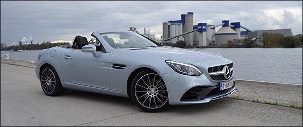 Rijtest: Mercedes SLC250d Roadster (2016)