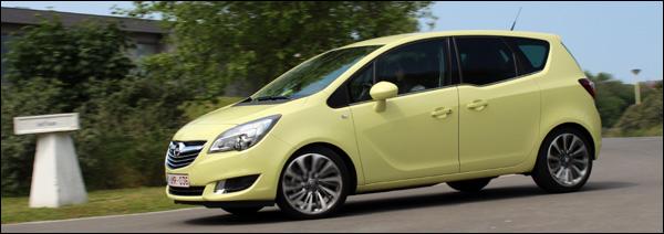 Rijtest Nieuwe Opel Meriva - Header